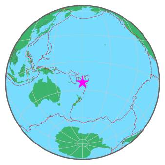 FIJI ISLANDS - SOUTH OF 2-20-16