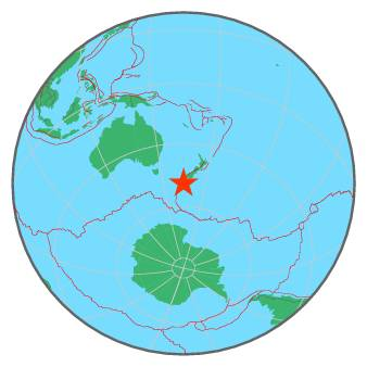 NEW ZEALAND REGION - AUCKLAND ISLANDS