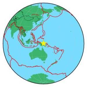 PAPUA NEW GUINEA - NEW GUINEA - NEAR N COAST OF