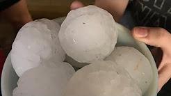 GIANT HAIL ARKANSAS