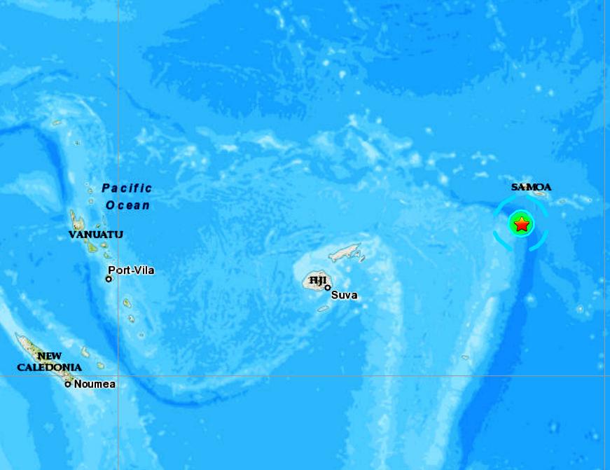 TONGA ISLANDS REGION - 7-18-20